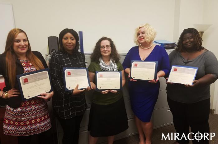 MIRACORP ICARE Awardees
